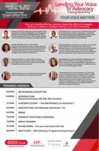 Advocacy Training Agenda