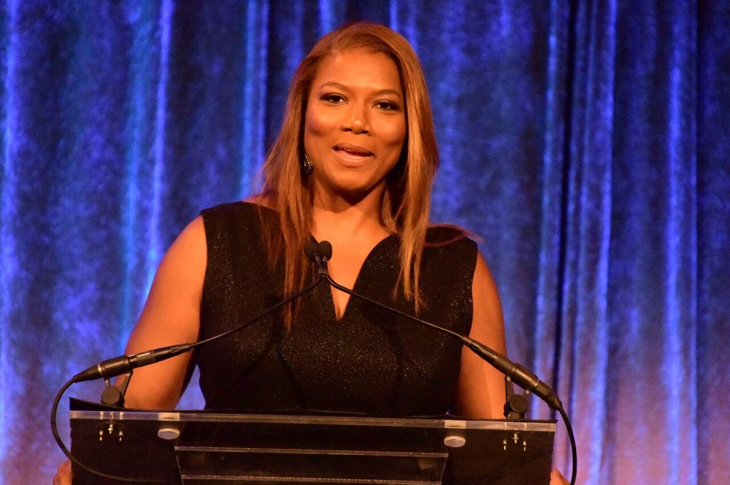 Queen Latifah onstage at the Spirit of the Heart Awards