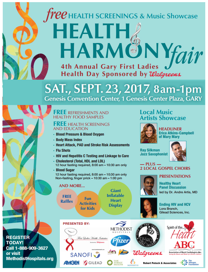 Health and Harmony Fair in Gary IN