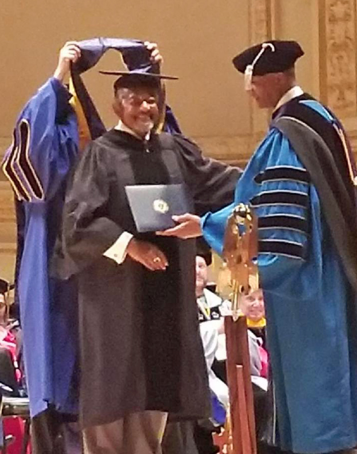 ABC Founder receives honorary doctorate