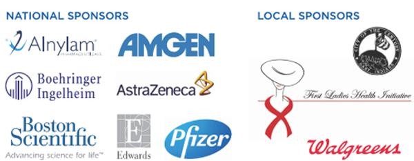 GAry Indiana Health Fair sponsors